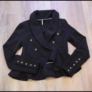 Free People Military inspired blazer XS
